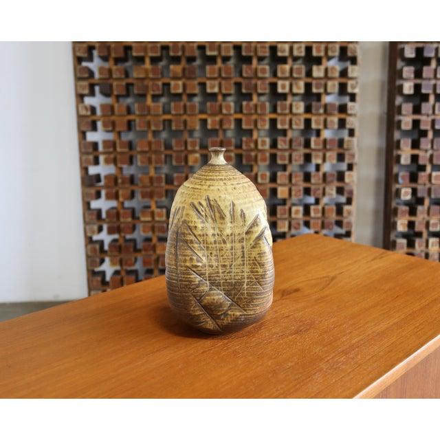 Modern Tim Kennan Ceramic Vase For Sale - Image 3 of 9