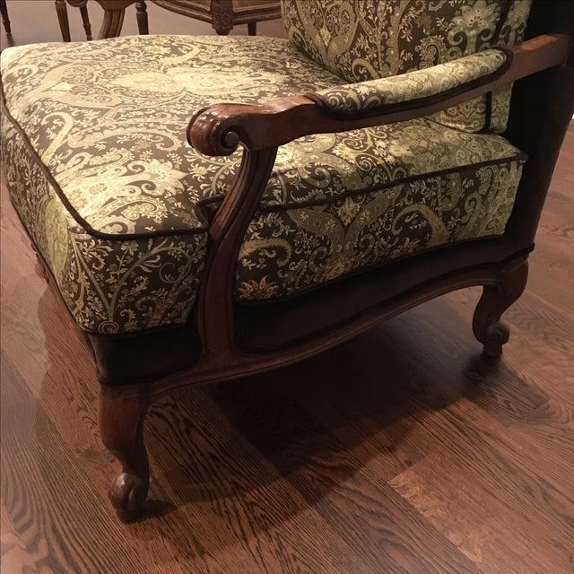 Contemporary Ethan Allen Harris Chair For Sale - Image 3 of 5