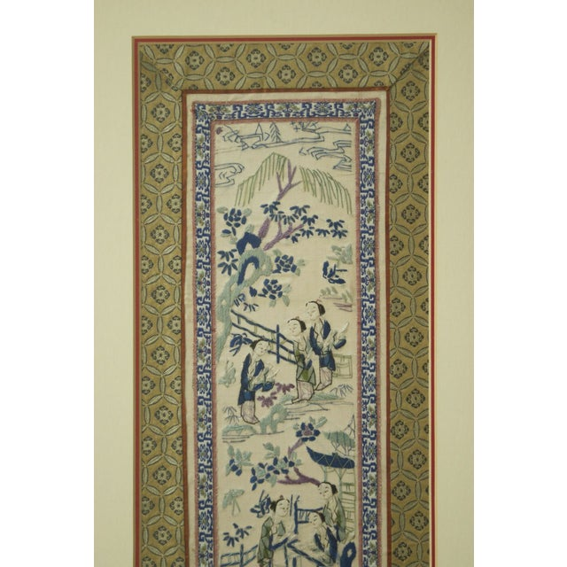 19th Century Chinese Embroidery Panel - Image 3 of 8
