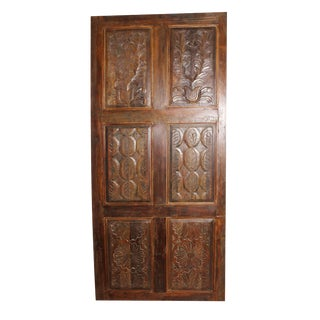 19th Century Antique Rustic Door For Sale