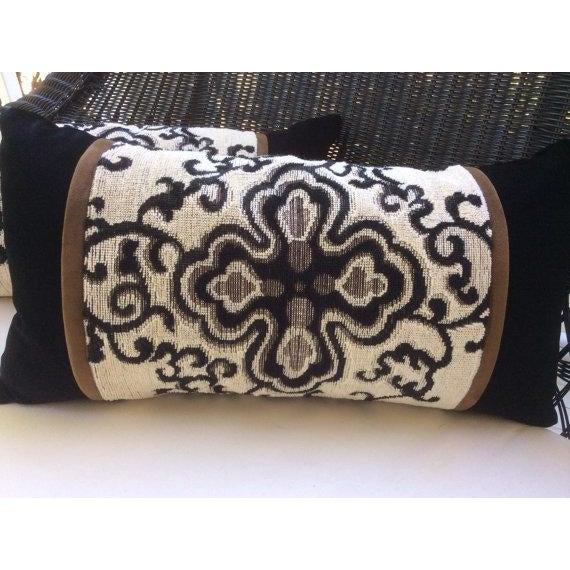 Ralph Lauren Pillow Covers in Jozan Pearl Velvet - a Pair - Image 2 of 4