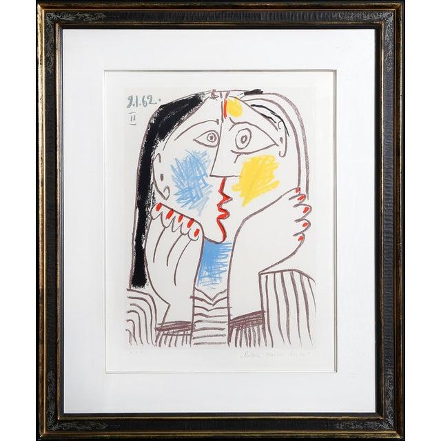 Pablo Picasso - Tete Appuyee Sur Les Mains II For Sale
