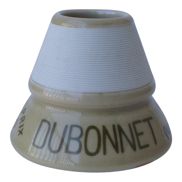 French Cafe Dubonnet Match Strike & Holder For Sale