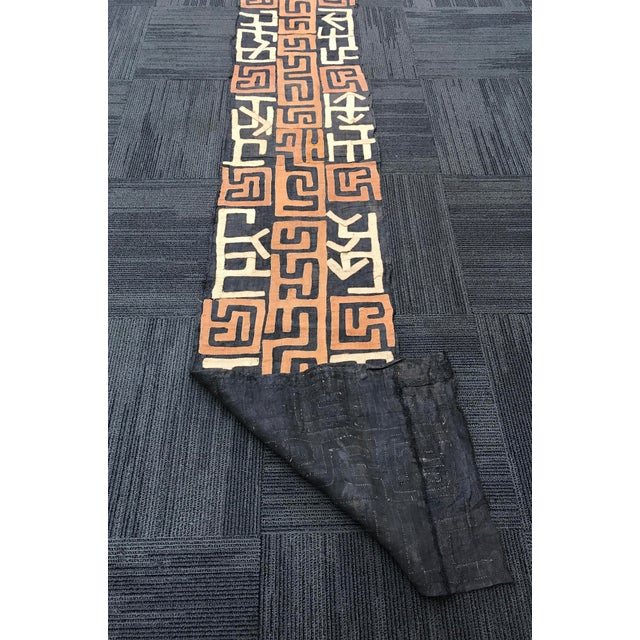 African Tribal Art Handwoven Kuba Clot For Sale - Image 5 of 9