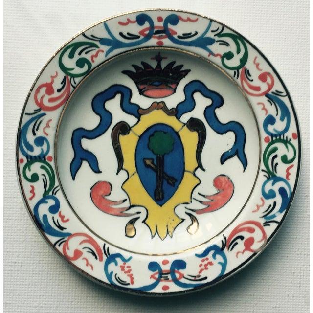 Italian 5 Vintage Florentine Trinket Dishes For Sale - Image 3 of 10