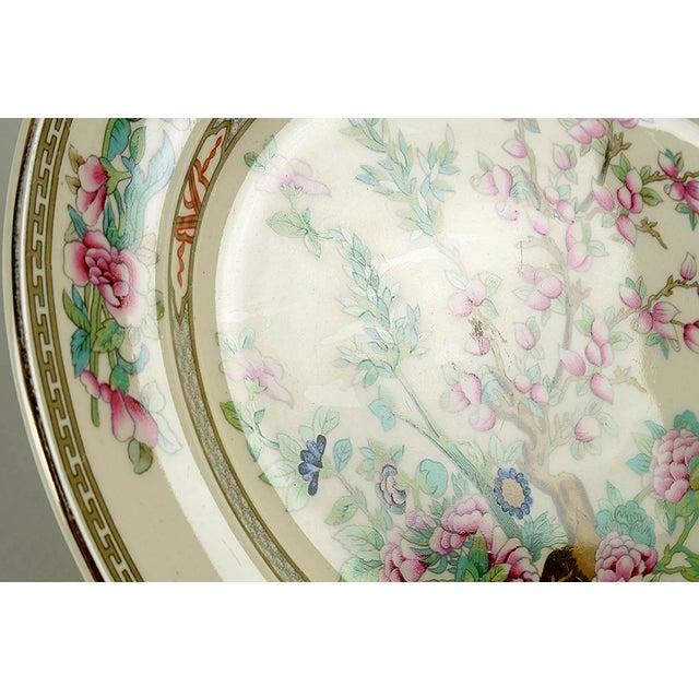 "Cottage Crown Ducal Indian Tree 14"" Oval Serving Platter For Sale - Image 3 of 6"