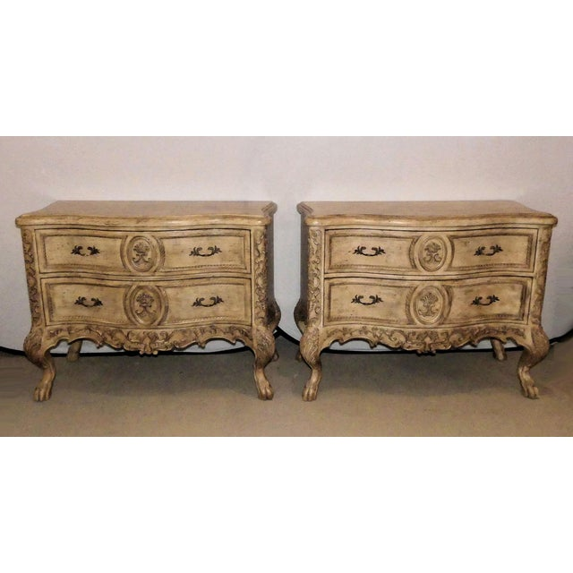 Ferguson Copeland French Country Nightstands-a Pair For Sale - Image 13 of 13