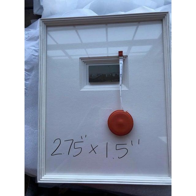 21st Century Custom Framed Paesan For Sale In Boston - Image 6 of 8