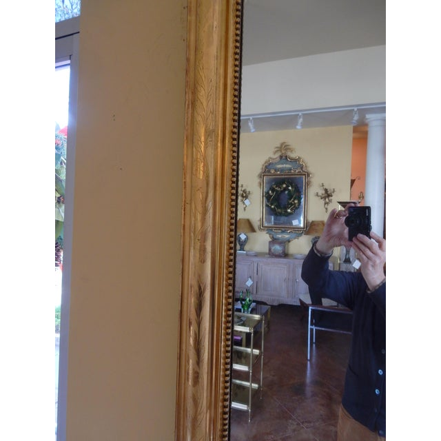 Traditional 19th Century Louis Philippe Gold Gilt Mirror For Sale - Image 3 of 7