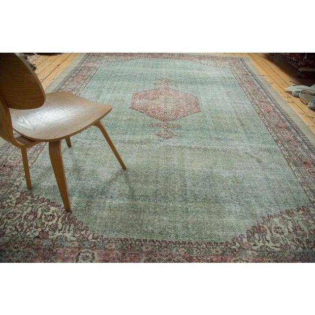 "Distressed Oushak Carpet - 8'6"" X 11'6"" - Image 7 of 10"