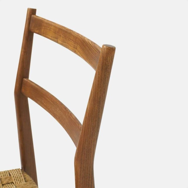 Ash Set of Eight Leggera Chairs by Gio Ponti for Cassina For Sale - Image 7 of 9
