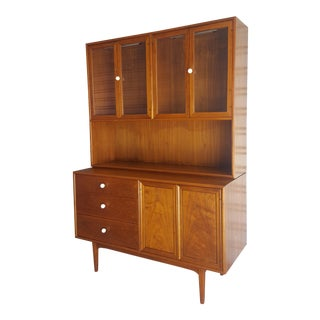 Vintage Mid-Century Drexel Suncoast Kipp Stewart China Cabinet