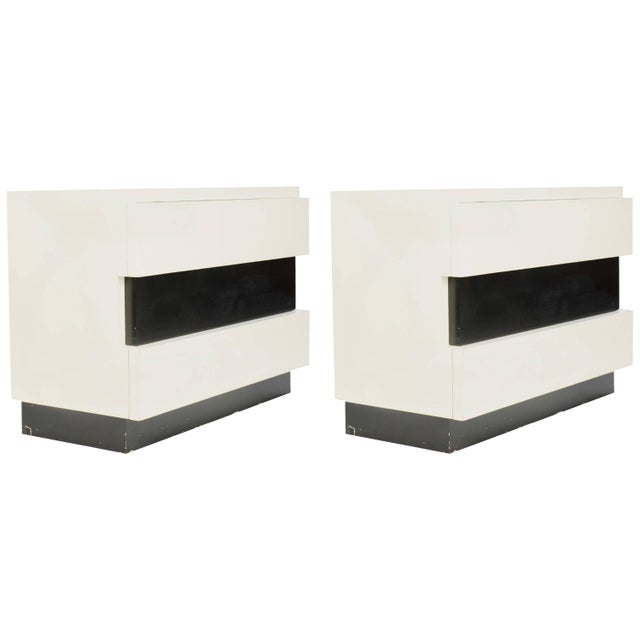 Dan Johnson for Hayden Hall Chest of Drawers - a Pair For Sale - Image 10 of 10