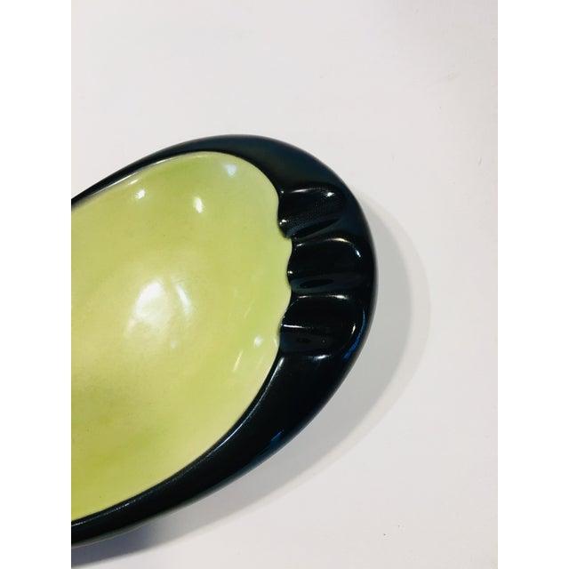1950s 1950s Mid-Century Teardrop Ceramic Ashtray For Sale - Image 5 of 7