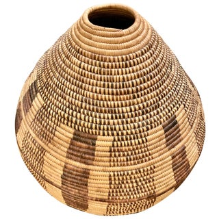 Tribal Woven Basket For Sale