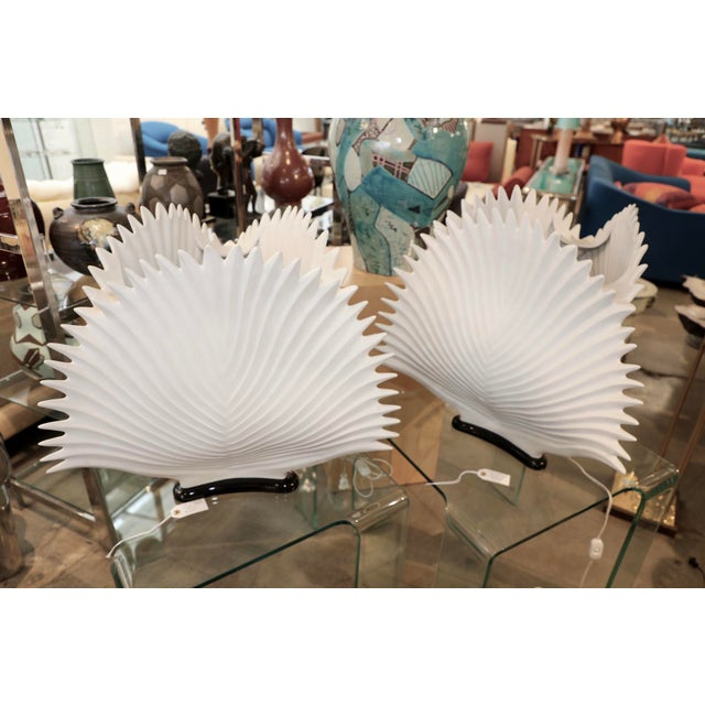 Italian Bisque Porcelain Lamps- A Pair For Sale - Image 11 of 11