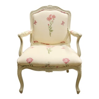 Thomasville Bergere Occasional Chair For Sale