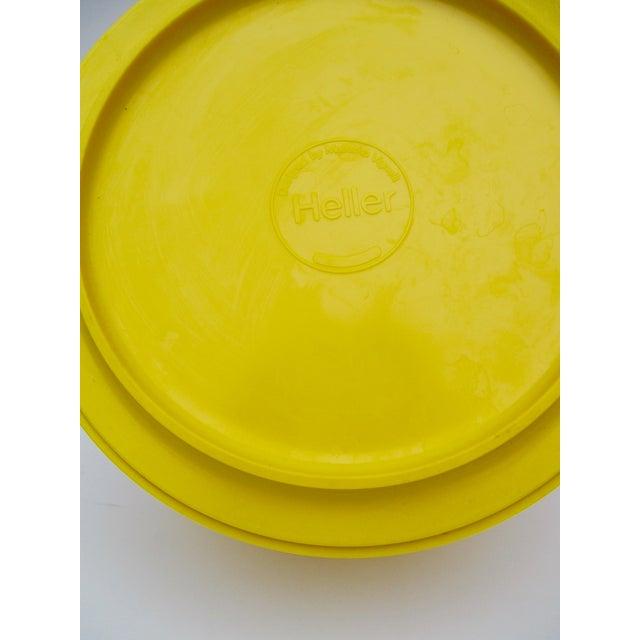 Massimo Vignelli Yellow Melamine Salad Bowl - Image 7 of 11
