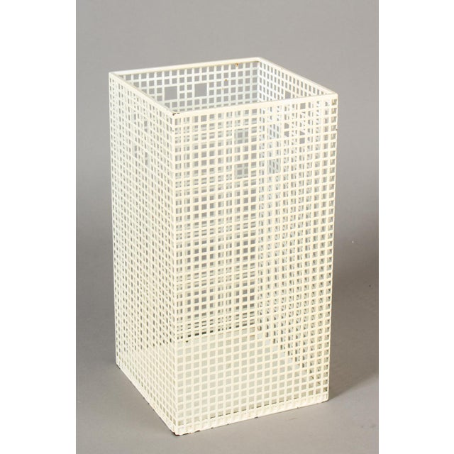 Josef Hoffmann Vienna Secession Umbrella Stand Waste Paper Basket For Sale - Image 6 of 6