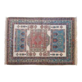 """Turkish Shiravan """"Ertan"""" Wool Rug - 5'5"""" x 7'5"""""""