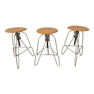 Jeff Covey for Herman Miller Model Six Stools - Set of 3 For Sale
