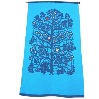 Monumental Mid-Century Swedish Tapestry of the Tree of Life Design For Sale