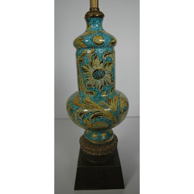 Blue Porcelain Lamp - Image 2 of 5