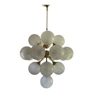 Visual Comfort Aerin Cristol 17 Light Chandelier For Sale