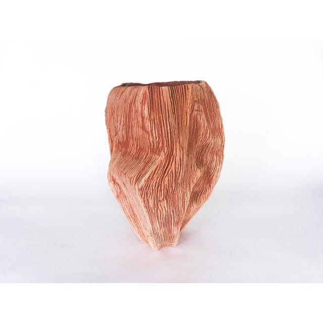 Resin Bonded Sand Vessel #54 Vase by Steven Haulenbeek For Sale In Chicago - Image 6 of 6