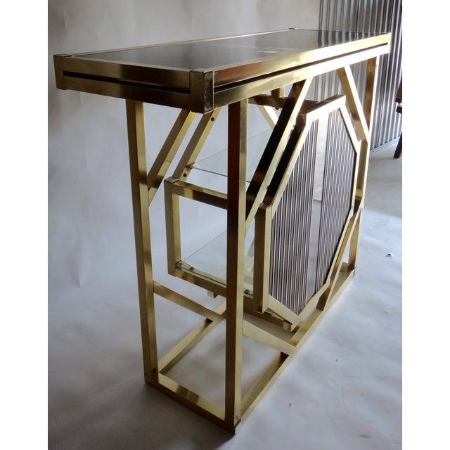 Brass Pivoting Octagon Display Bar - Image 7 of 11