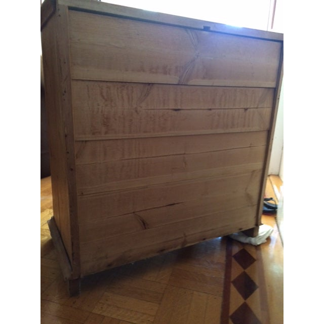 Sold - Antique Danish Pine Commode Chest of Drawers For Sale - Image 4 of 10