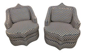 Image of Transitional Swivel Chairs