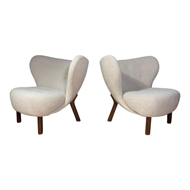 "Viggo Boesen, ""Little Petra"" Lounge Chair, Designed 1938 For Sale"