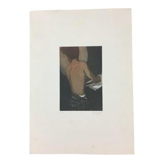 Paolo Baruffaldi Print of Male Undressing