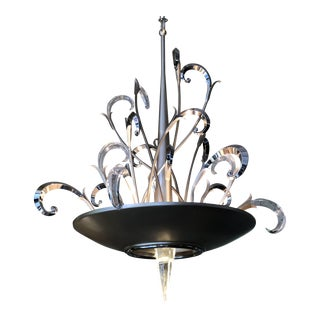 Crescendo Pendant Chandelier For Sale