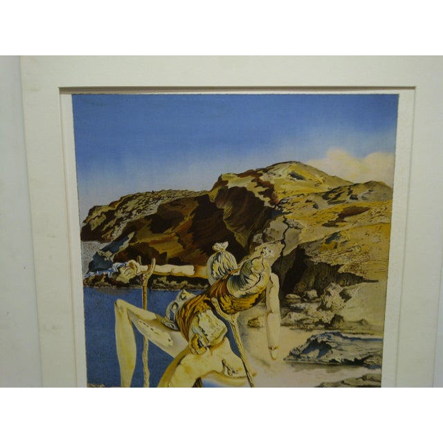 """Limited Edition Numbered (275/300) Matted Salvador Dali Print """"Spectrum of Sex Appeal"""" - Image 3 of 8"""