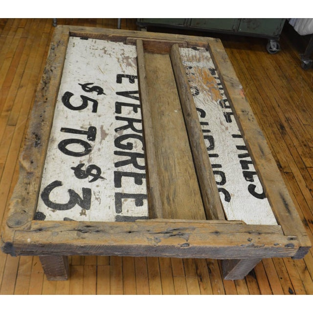 Barn Wood Coffee Table - Image 4 of 7