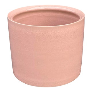 Vintage Blush Ceramic Planter