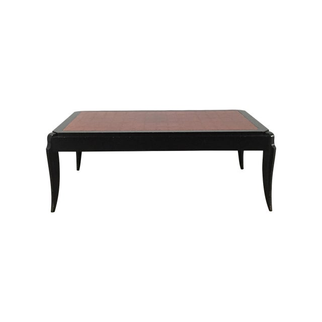 Interior Crafts Faux Crocodile Coffee Table - Image 1 of 10