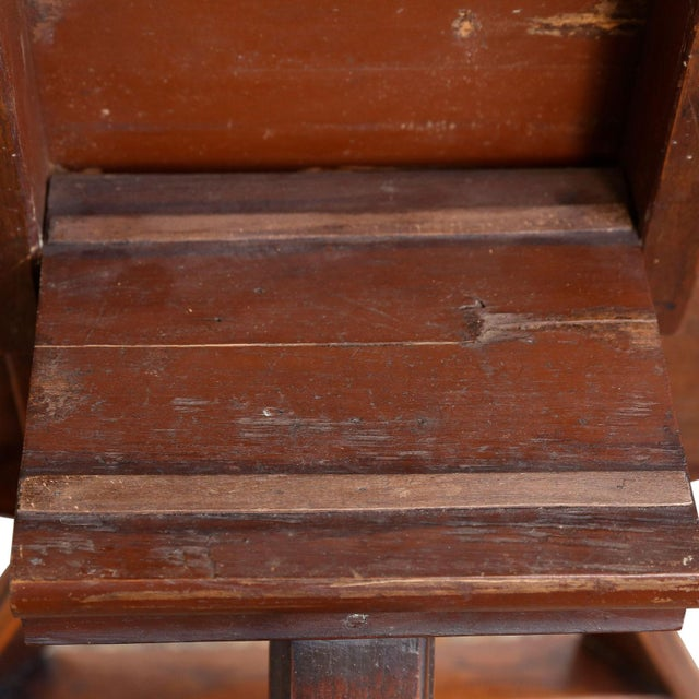 Brown 19th Century Dutch Tilt-Top Table For Sale - Image 8 of 9