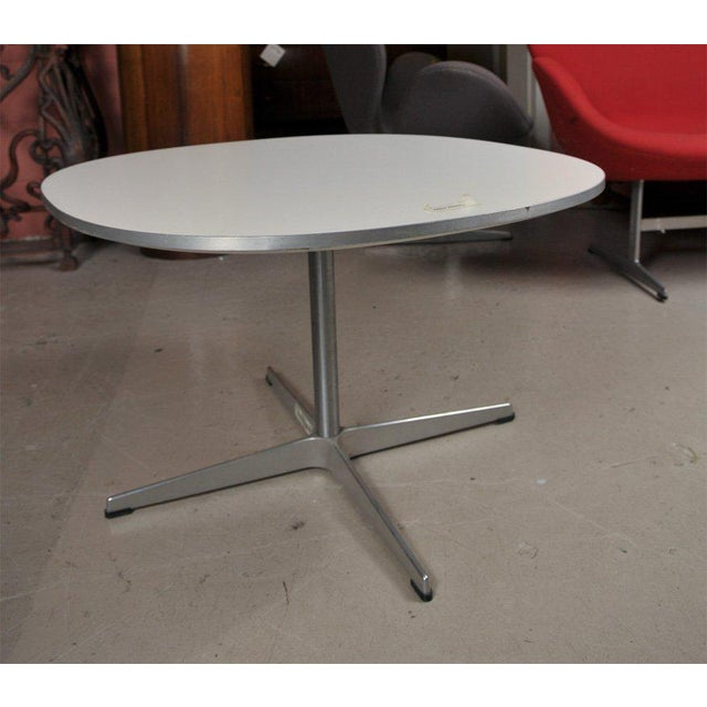 Fritz Hanson Tables Made in Denmark Designed by Bruno Mathsson -- A Pair For Sale - Image 5 of 6
