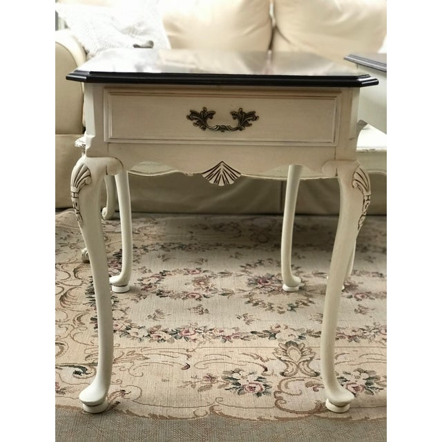 20th Century Queen Anne Lexington End Tables - a Pair For Sale In Baltimore - Image 6 of 11