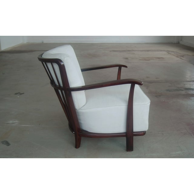 Mid-Century Model 1595 Armchair by Fritz Hansen - Image 4 of 10