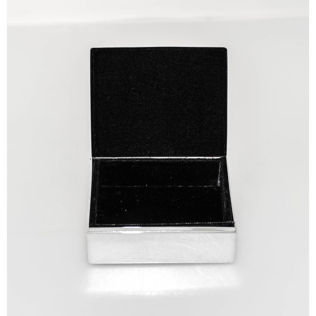 American Sterling Men's Jewelry Box For Sale - Image 3 of 7