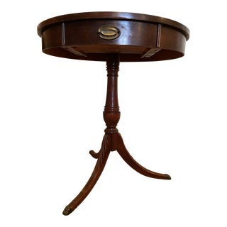 1950s NeoRound End Table For Sale
