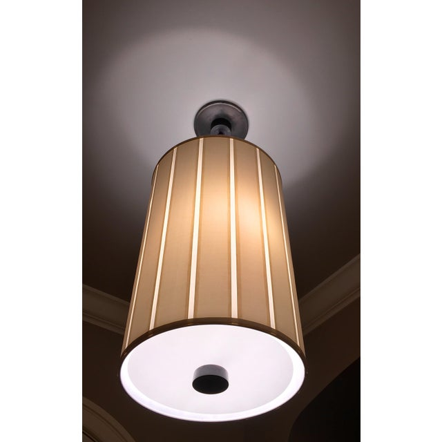 This two-light hanging shade from the Barbara Barry Perfect Pleat collection by Visual Comfort will enhance your home with...