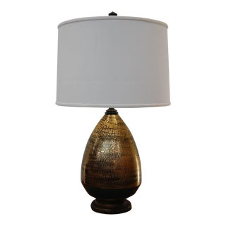 Exceptional Marcel Guillard Lamp From Paris