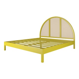 Eva Bed - King - Citron For Sale