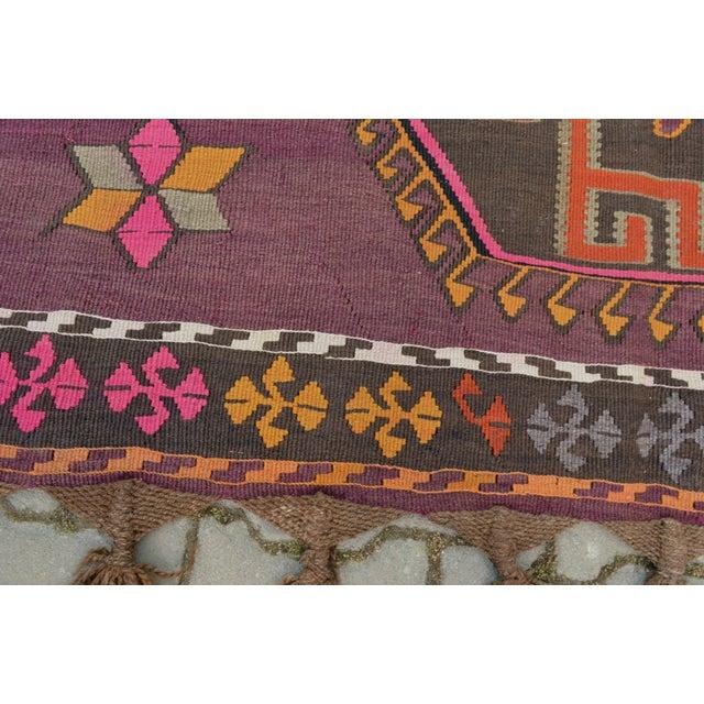 Hand-Woven Turkish Runner - 5′6″ × 13′2″ - Image 3 of 10