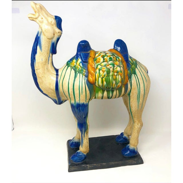 Vintage Scale Chinoiserie Style Camel Figure For Sale - Image 10 of 11